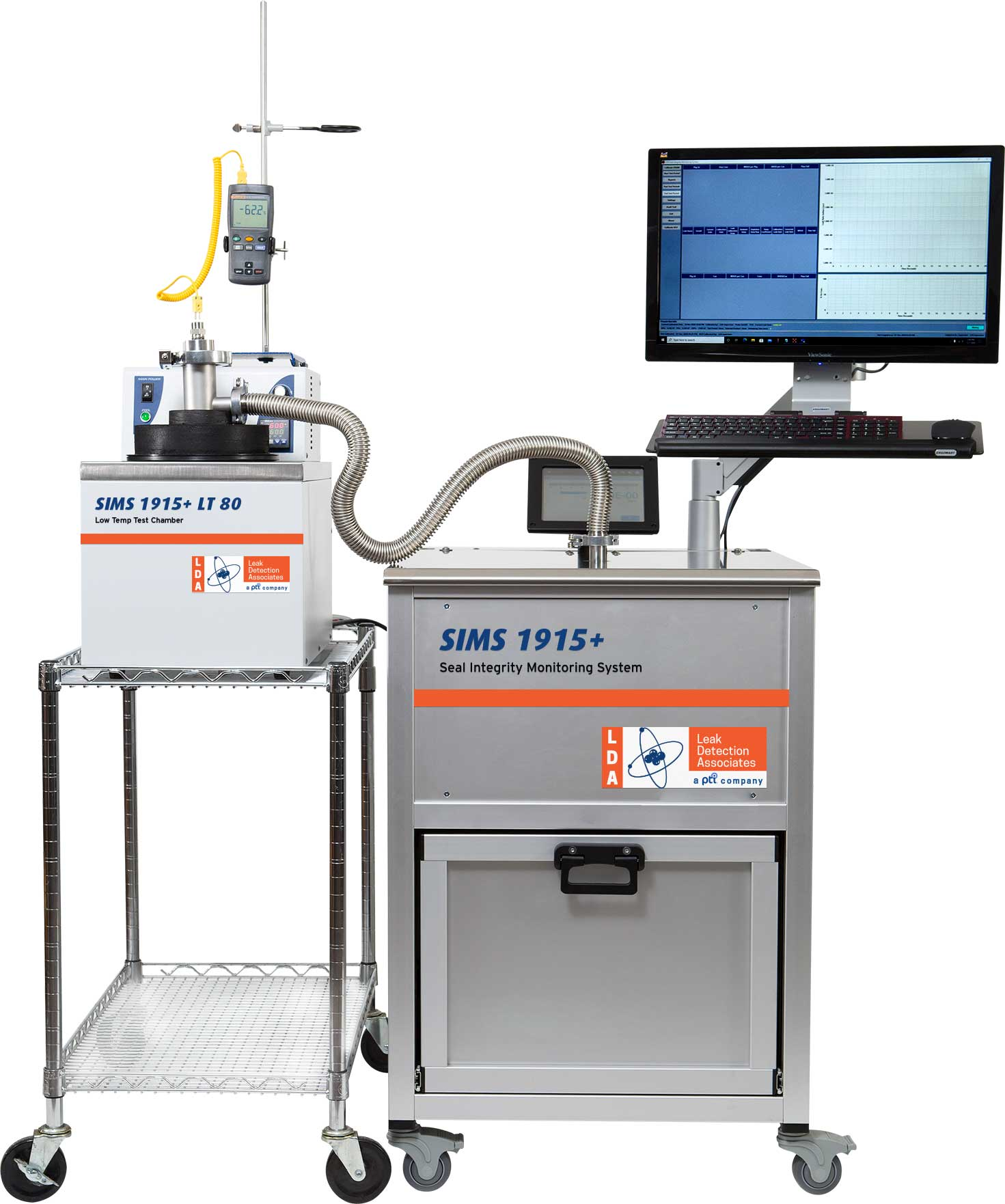 helium leak detection SIMS 1915+ with LT 50 Chiller